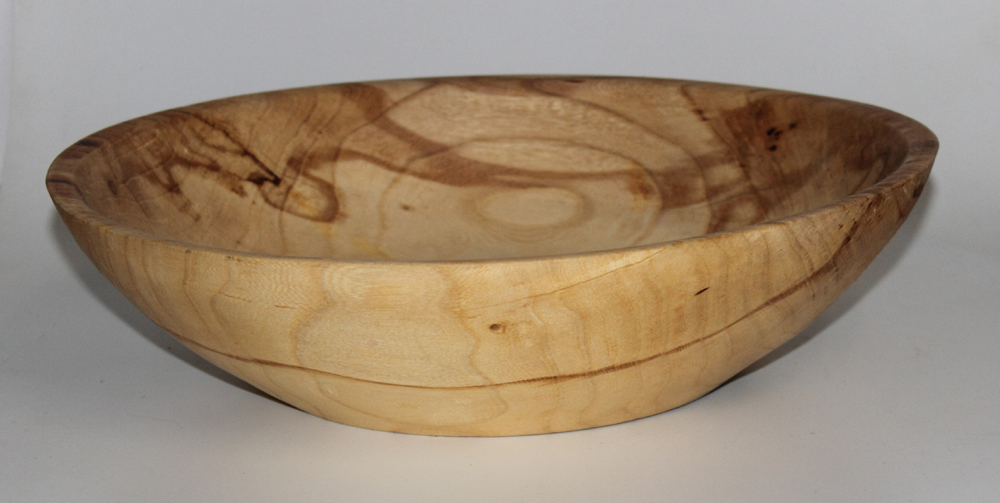Elm serving bowl