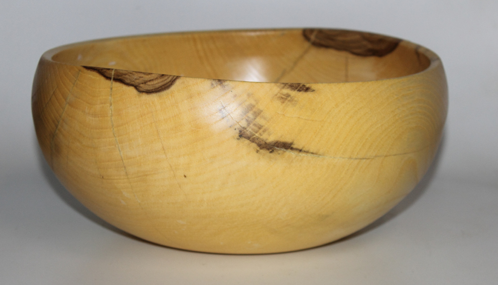 Hackberry serving bowl