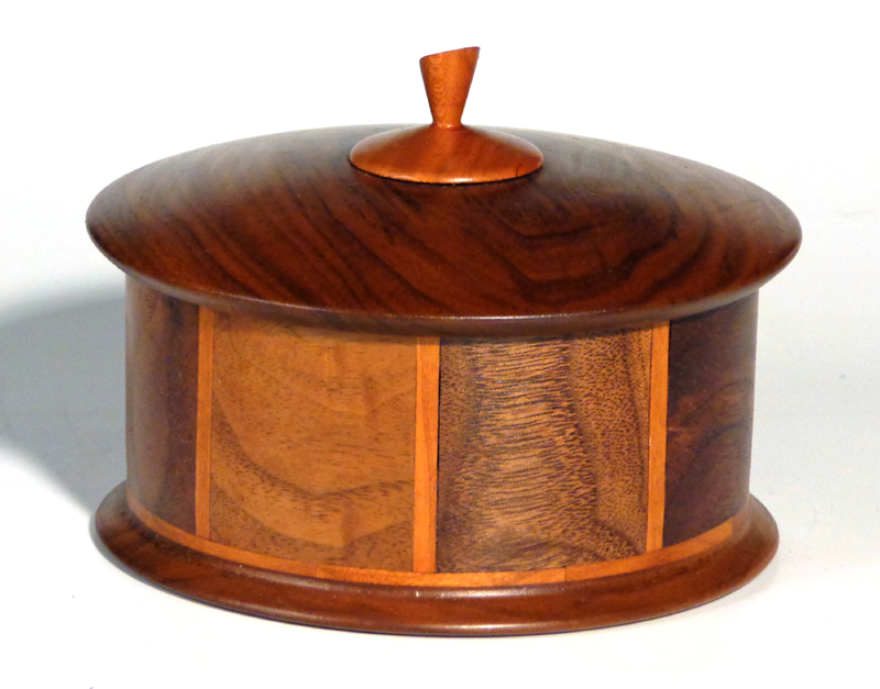 walnut & cherry jewelry box